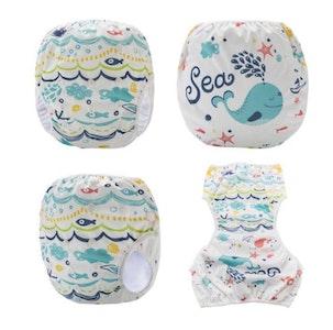 Bubba Bump Baby Baby Swim Nappy - Sea