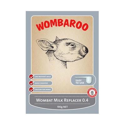 Wombaroo Wombat Joey Milk Replacer Substitute 0.4 - 2 Sizes