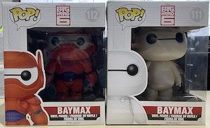 Big Hero 6 - Baymax + Armoured Baymax