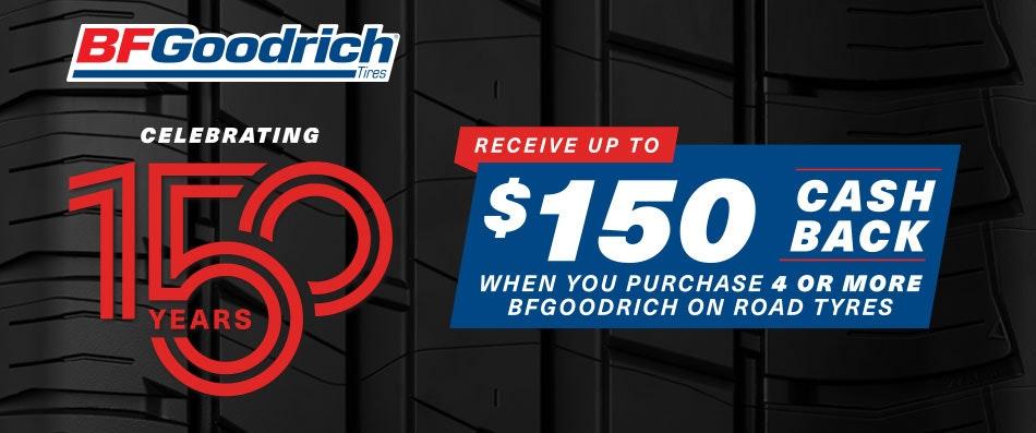 BFGoodrich  Cash Back promotion