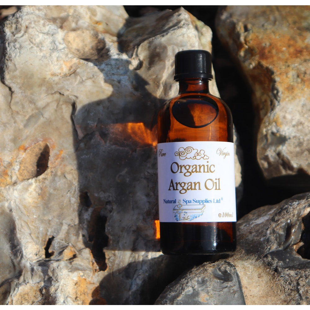 Natural Spa Supplies Argan Oil, Virgin, Cold Pressed And Organic