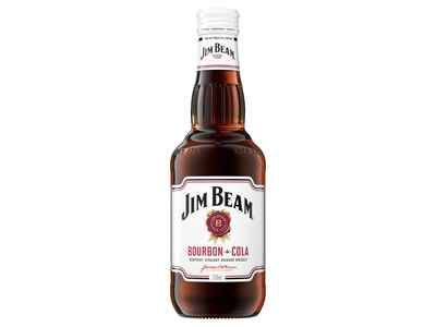 Jim Beam White & Cola Bottle 330mL