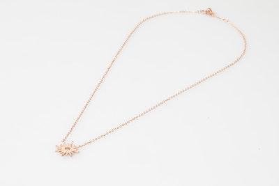 I Dream of Silver Sunburst necklace (Groa)