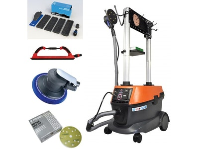 MAKS Mobile Professional Dust Extraction Unit