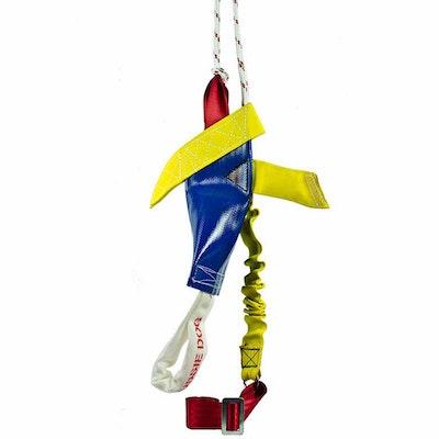 Aussie Dog Heavy Duty Bungie Turbo Chook Rattle Interactive Toy