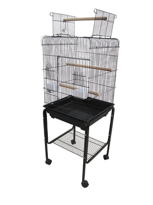 Bono Fido Open Top Budgie Cage and Stand 45138