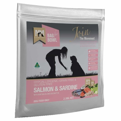 MEALS FOR MUTTS Grain Free Adult Salmon & Sardine Dry Dog Food