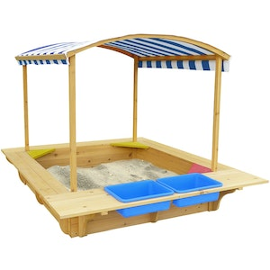 Lifespan Kids Playfort Sandpit (Blue Canopy)