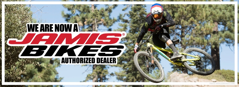We are now a Jamis Bikes Authorized Dealer! Shop now