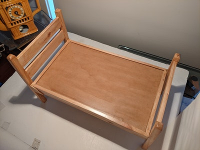 Designed by Florence Nude Doll Bed