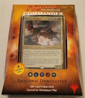 Commander 2017 Draconic Domination Sealed New Mtg Magic The Gathering English Brand new unopened
