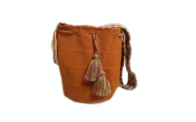 Continente Dorado Asema Crossbody Bag Orange