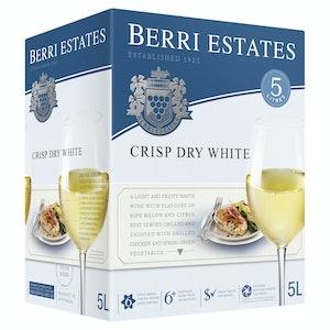 Berri Estates Crisp Dry White Cask 5L