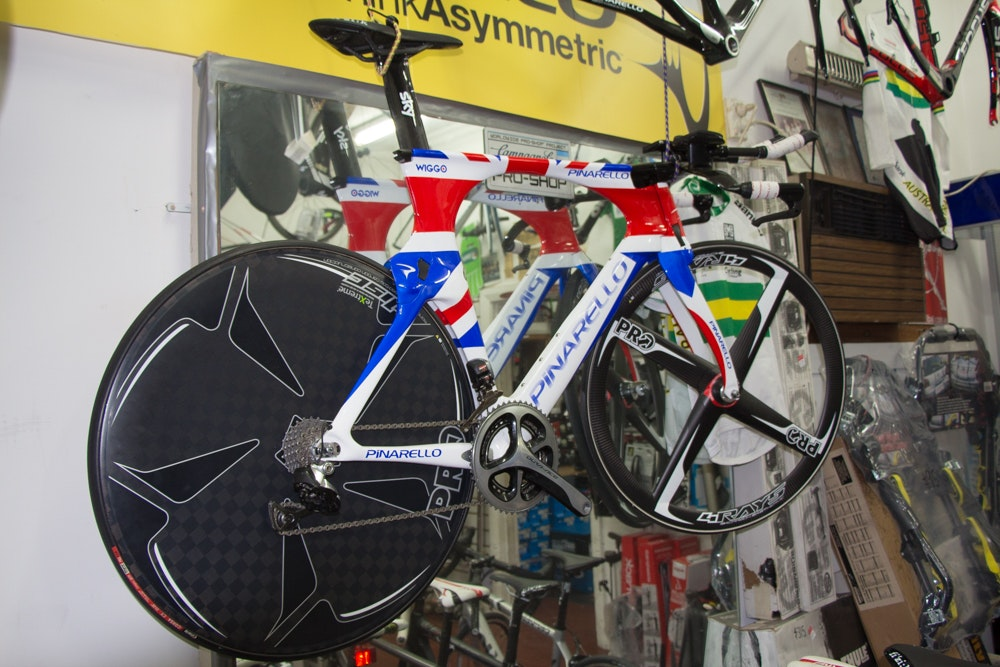 Wiggins  pinarello glen parker