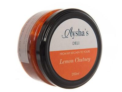 Aysha's Deli Lemon Chutney