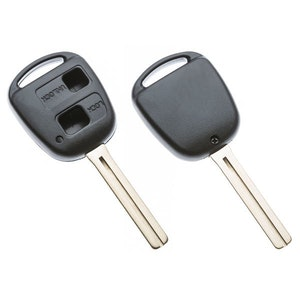 Silca Toyota & Lexus 2 Button Replacement Key Shell