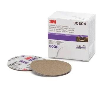 70mm 3'' Trizact Hookit Foam Disc, 8000G - 30804