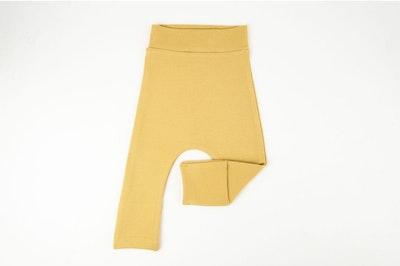 Toe Cover Harem Pants - Mustard
