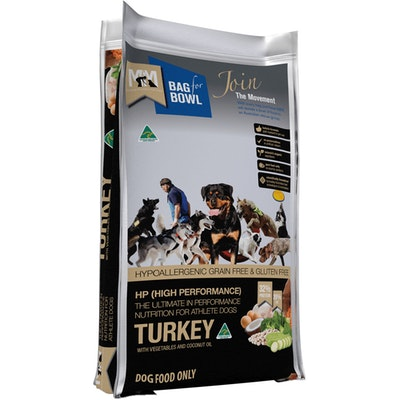 MEALS FOR MUTTS MFM High Performance Holistic Grain Free Turkey Dog Food - 2 Sizes