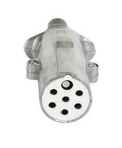 Trail-Link Supplementary 7Pin Plug SAE/EURO ISO3731 Metal