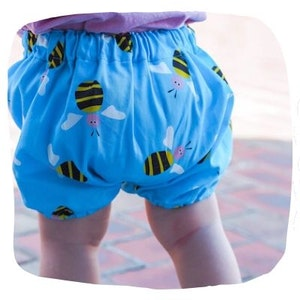 Blue Bee Bloomers