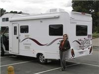 GoSee Lisa loves camping in a fuel efficient motorhome at 12.5l per 100km