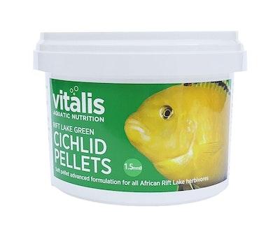 Vitalis Rift Lake Cichlid Pellet - Green 1.5mm 140g