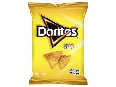 Doritos Nacho Cheese Corn Chips 170g