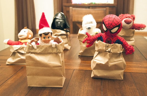 Elf on the Shelf | Ideas for this Christmas