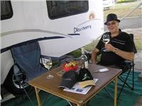 GoSee and Jayco Discovery take a break at Park Lane Tourist Park Traralgon
