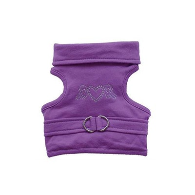 DoggyDolly SMALL DOG - Angel Doggy Harness - Violet