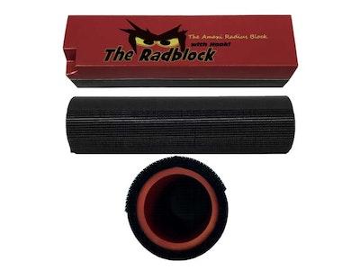Radius Sanding Block - The Radblock 2 Piece Kit