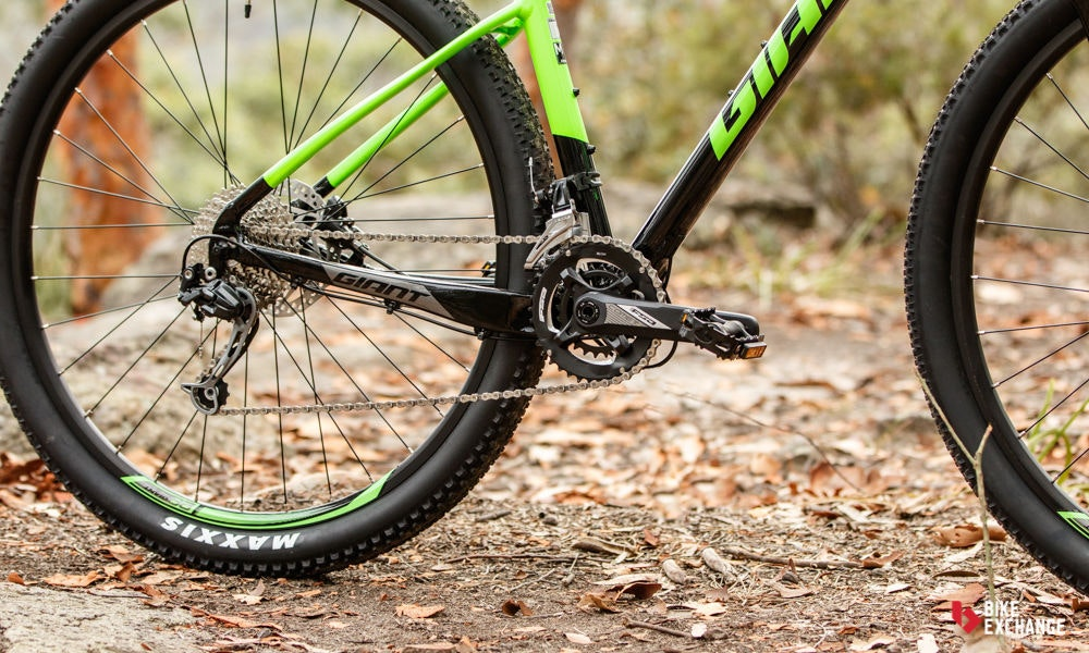 fullpage Giant Fathom 29er 2 2017 mountain bike review bikeexchange 4