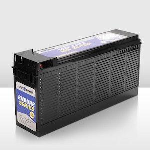 135Ah 12V AGM Battery Slim Deep Cycle Battery Portable 4WD Sealed Marine Solar