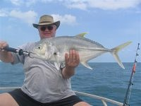 Nice catch Graham a Giant Trevally GT