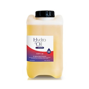 Caronlab Hydro Oil Athletic Warm Up Massage Oil & Pouring Tap 5 Litre 5L