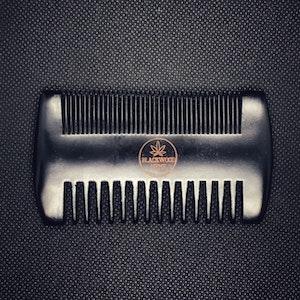 Blackwood Hemp Beard Comb - Black 2020