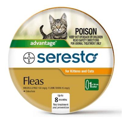 SERESTO Flea & Tick Cat & Kitten Collar