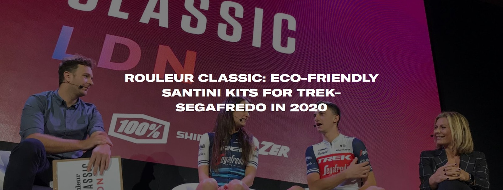 ROULEUR CLASSIC: ECO-FRIENDLY SANTINI KITS FOR TREK-SEGAFREDO IN 2020