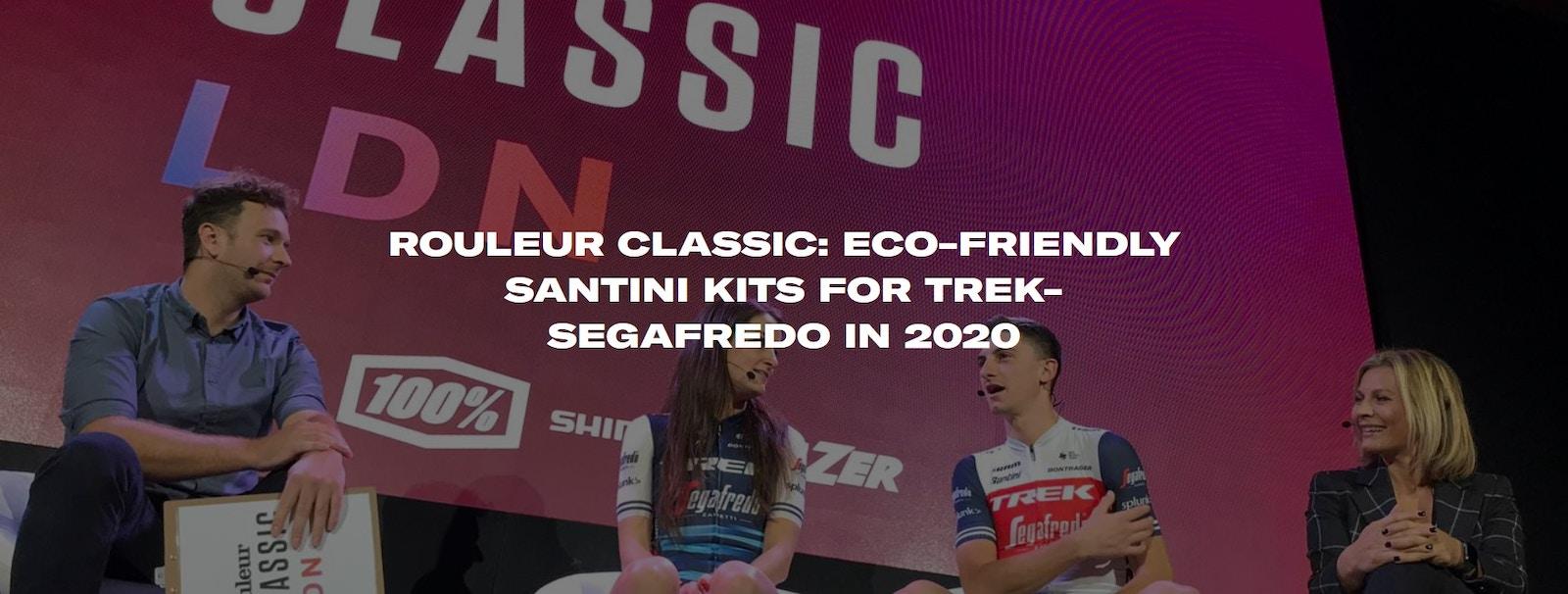 Santini - Roleur Classic: Exo-friendly Santini Kits for Trek-Segafredo in 2020