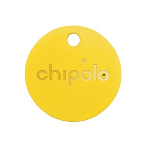 Chipolo Classic Bluetooth Tracker - Key & Mobile Phone Finder in Yellow