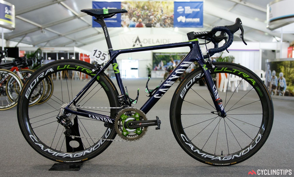 Movistar Canyon Ultimate CF SLX 2017 1