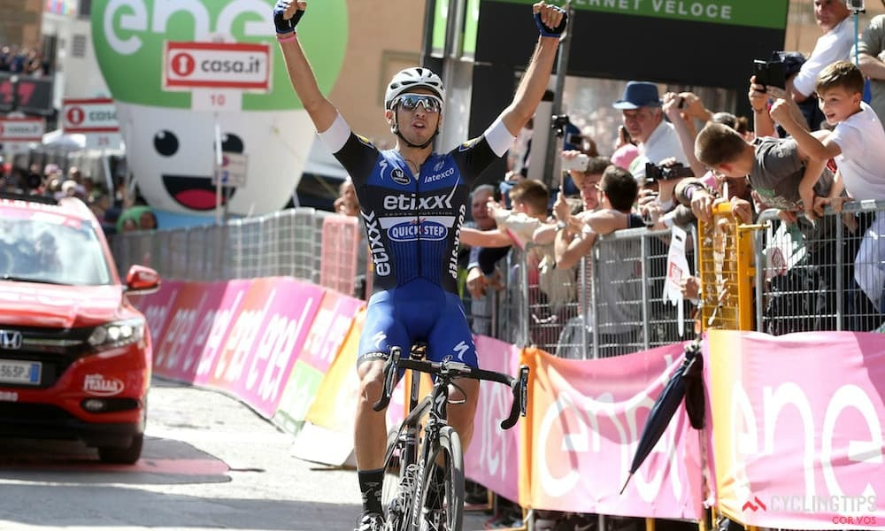 Brambilla Moves Into Pink With Solo Win