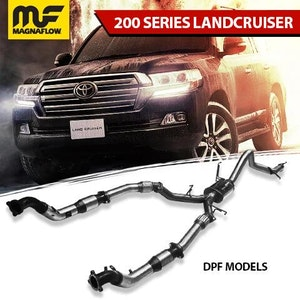Toyota Landcruiser 2015-2020 4.5L TD 200 Series MagnaFlow Turbo Back Exhaust System with DPF