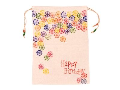 Wrapturous Drawstring Fabric Gift Bags