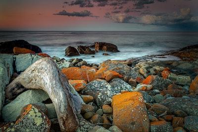 Falmouth Tasmania Sunset