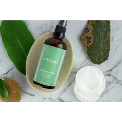 Luxeluna Face and Body Hydrating Toner with Rose & Cucumber