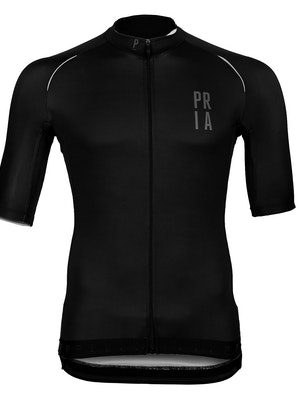 Paria Black Race Fit Cycling Jersey