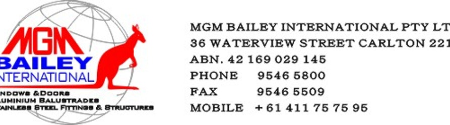 MGM Bailey International
