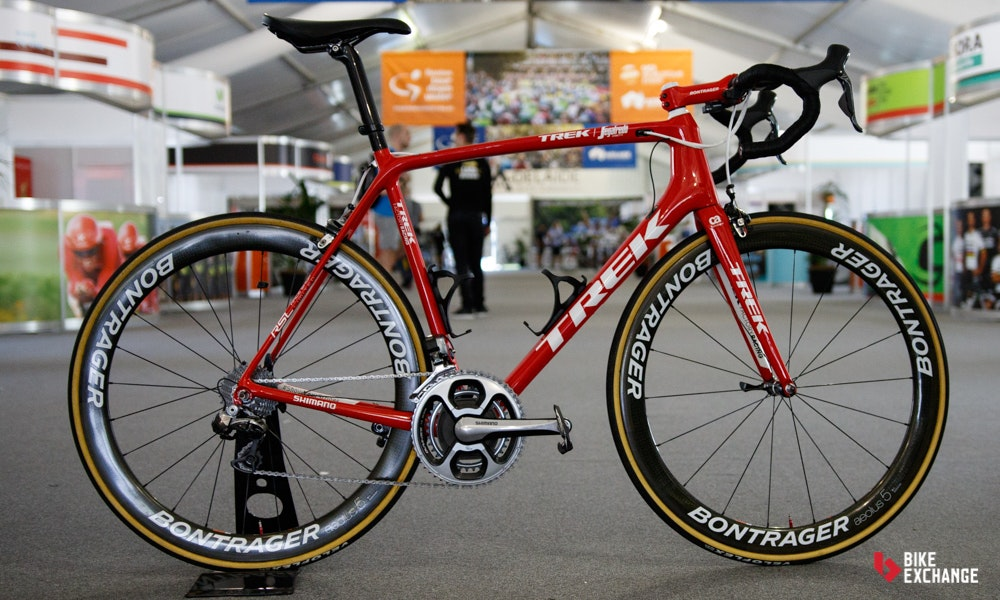 bikes of the 2017 worldtour trek segafredo emonda